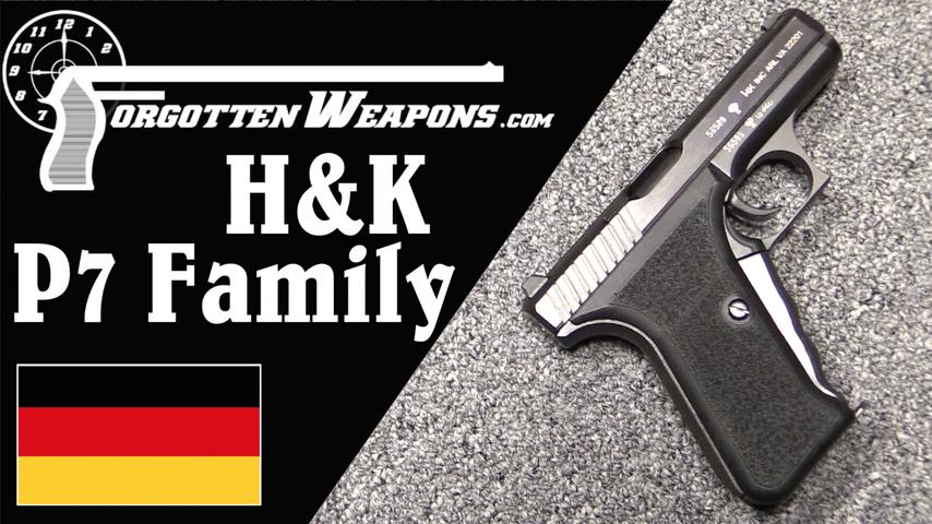 H&K P7 Family: Pistols for Gun Hipsters