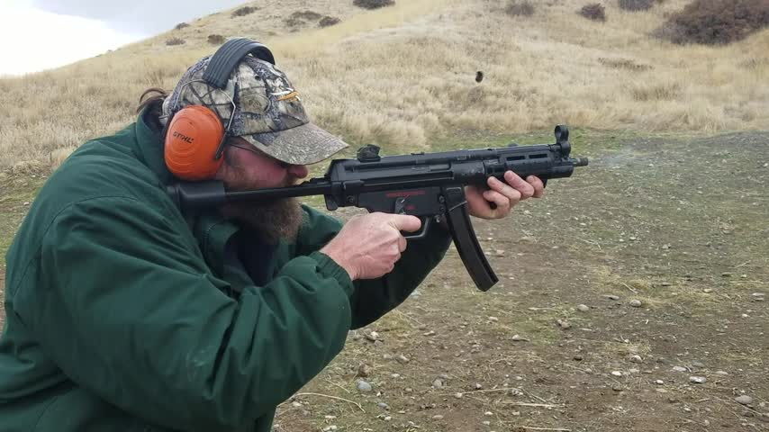 Second mag with an HK MP5-N