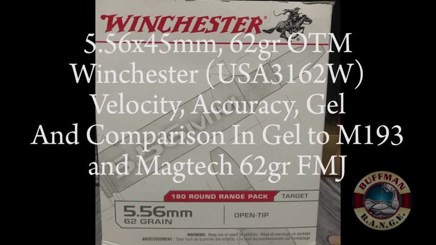 5.56x45mm, 62gr OTM, USA3162W, Winchester Made In Sweden