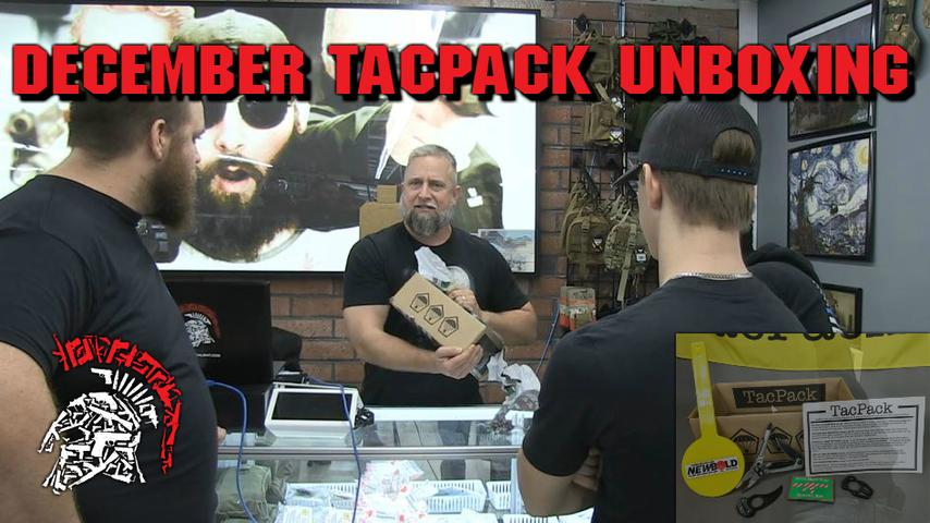 December Tacpack Unboxing AND MORE!