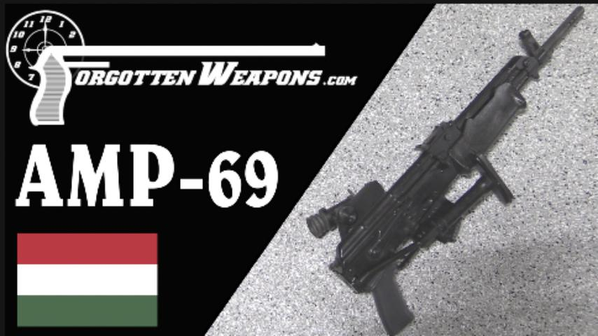 AMP 69: Hungary's Grenade-Launching AK