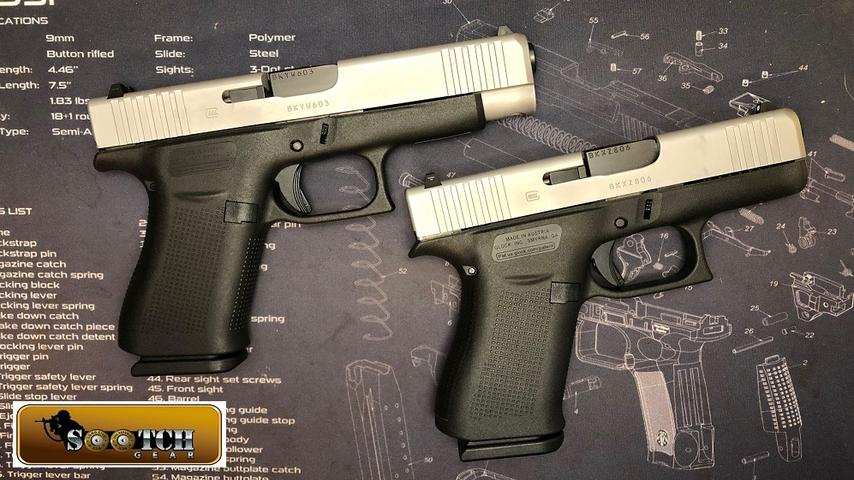 New Glock G43X & G48 First Look