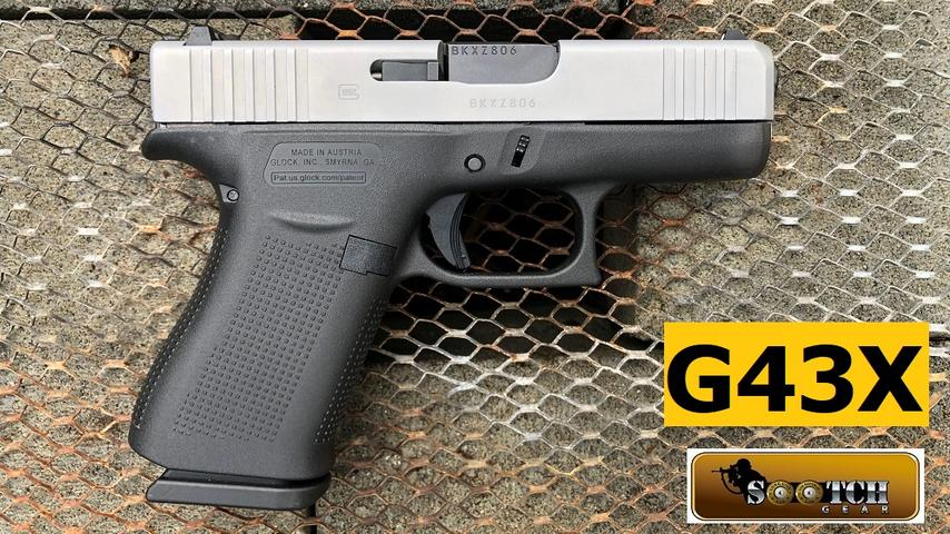 New Glock G43X Review