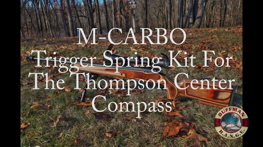 M-Carbo Spring Kit for the Thompson Center Compass Bolt Action Rifle!
