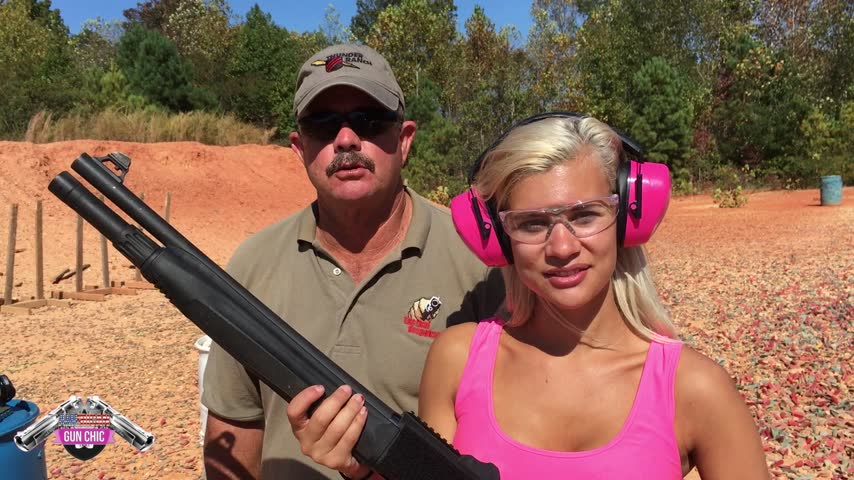 How to Teach Girls to Shoot Shotguns!