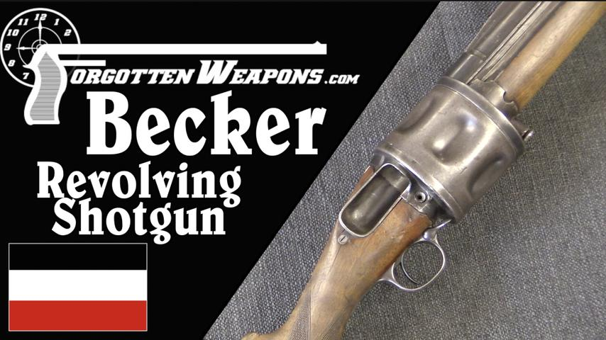 Becker Blow-Forward Revolving Shotgun