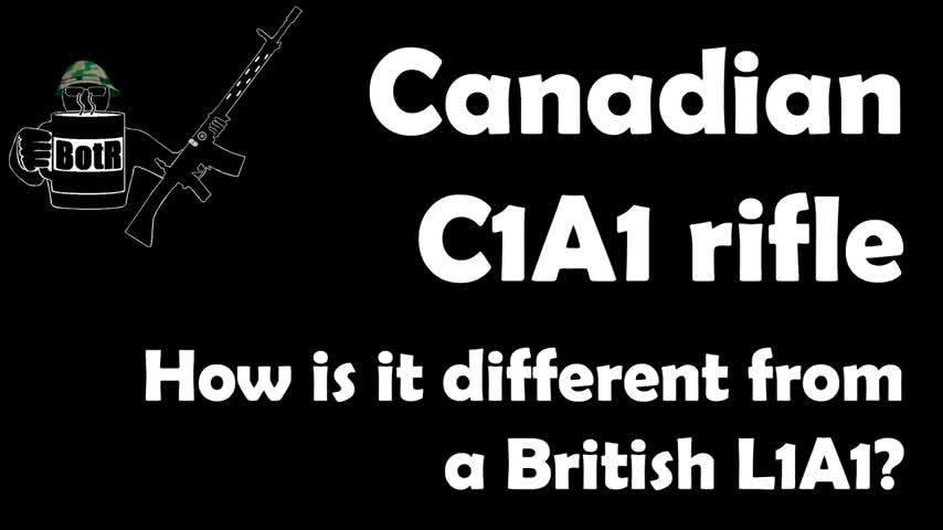 7.62mm C1A1 Canadian FAL, including a cutaway model!