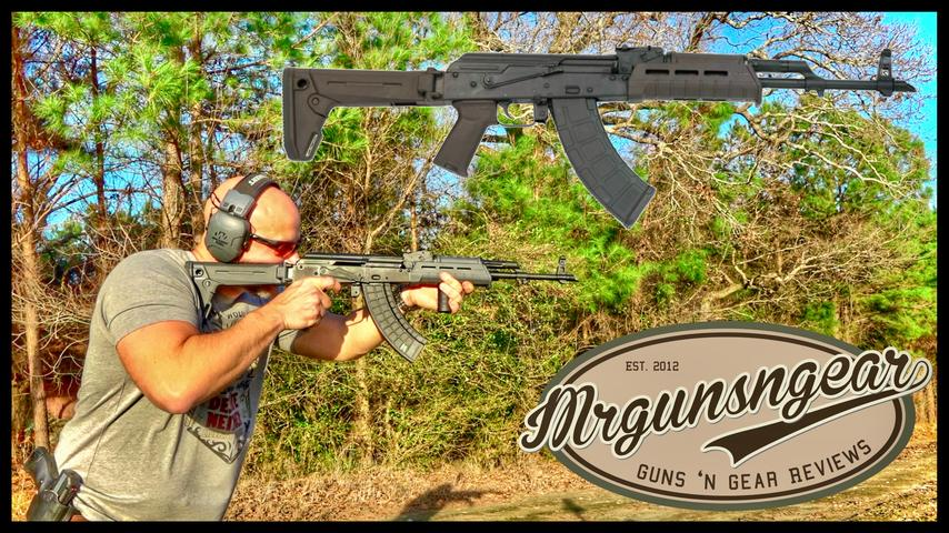 Palmetto State Armory GF3 Hammer Forged AK-47 First Shots